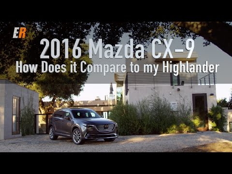 2016 Mazda CX-9 Review - How Does it Compare to the Toyota Highlander?