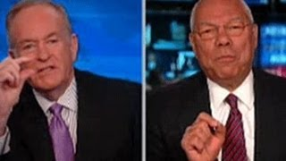 Powell to O'Reilly Why Do You Only See Me as an African American?  4/9/14  (Racism)