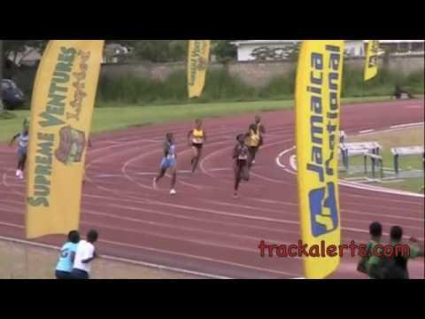 Junior Trials; Girls' U-20 400m. Jamaica Amateur Athletic Association (JAAA) ...