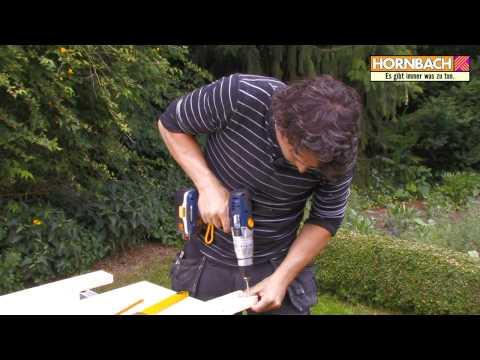 Hornbach - Eigenbau Von Fettem Esstisch Und Sitzbänken