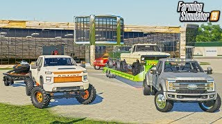 RCC TRUCK DAY! CUSTOMIZING TRUCKS & TRAILERS FOR THE LOT! | FARMING SIMULATOR 2019