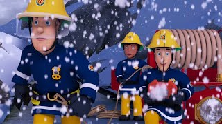 Fireman Sam US | Fireman Sam's Christmas Snowy Saves 🎅 ☃️ | Cartoons for Children | Kids TV Shows