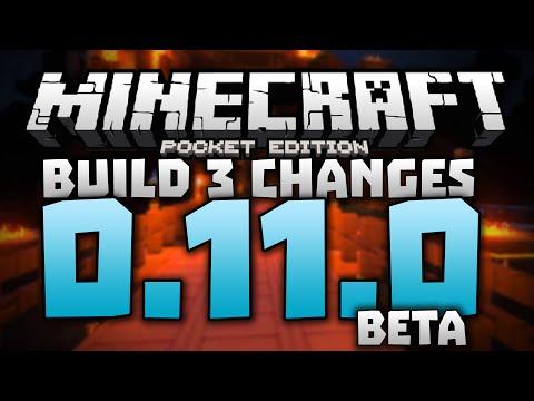 MORE 0.11.0 FEATURES!!! - 0.11.0 Alpha Build 3 Changelog - Minecraft Pocket Edition 0.11.0 Beta