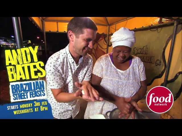 Andy Bates Brazilian Street Feasts