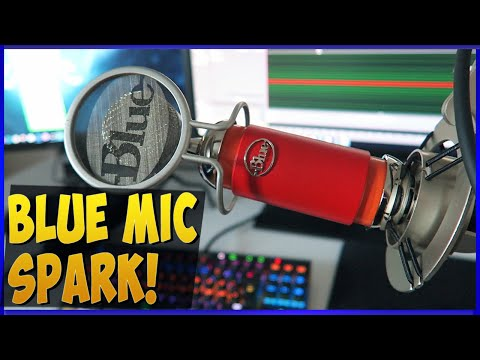 Spark XLR Blue Microphones - Unboxing & Review Test Plus ICLE