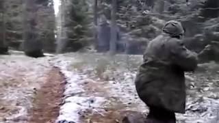 Приколы на охоте! Криворукий охотник