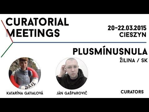 Curatorial Meetings / Plusmínusnula galéria 24 // SK