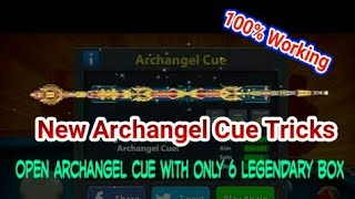 8 Ball Pool - New Archangle Legengry Box Opening Trick | Only 6 legendary box | 100% Work 2018