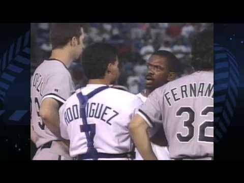 Nolan Ryan and Robin Ventura confrontation. FIGHT 1993