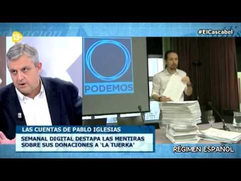 13TV, Floriano, Pablo Iglesias, Partido Popular, Podemos, Eduardo Inda, Tania Sánchez, Alfonso Rojo