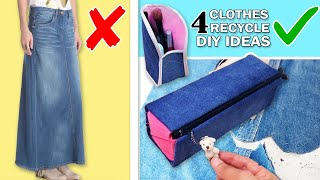 DIY AWESOME PURSE BAG IDEAS // Zipper Travel & Coins Pouch Cosmetics Bag