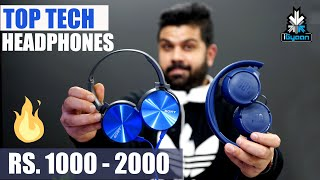 Top Tech : Best Headphones For Rs. 1000 - Rs. 2000 : SE02 : EP 20