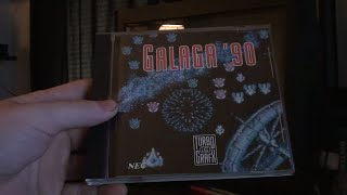 Galaga '90 - Turbografx-16 - Pick Ups And Gameplay