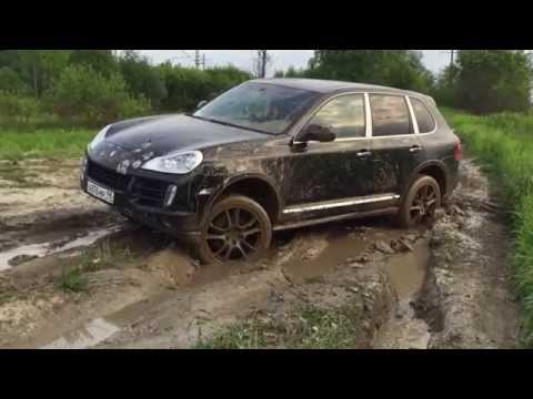 Porsche Cayenne внедорожные способности на дорожной резине