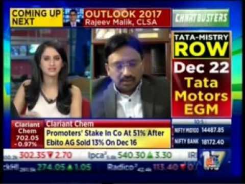 CNBC with Mr. Suresh Venkatachari - Chmn & CEO, 8K Miles - 20 Dec 2016
