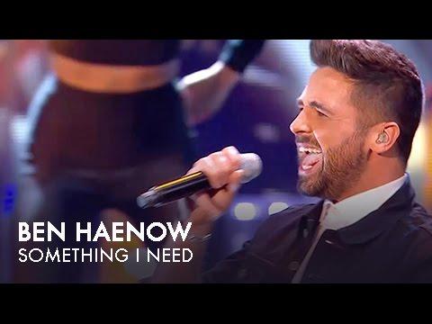 National TV Awards - Ben Haenow performing Something I Need