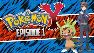 Pokemon X and Y Let's Play Walkthrough, Team Chespin! - Episode 1