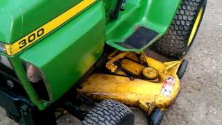 78 john deere 300 view and start