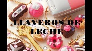 HAZ LLAVEROS DE LECHE