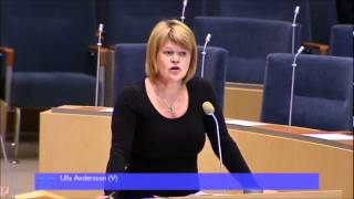 Statsministerns frågestund 26 April 2012 - Ulla Andersson (V)