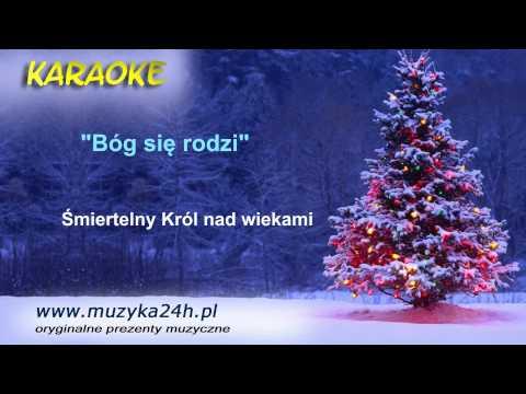 Bóg Się Rodzi. Karaoke FULL HD. Tekst I Podkład Muzyczny