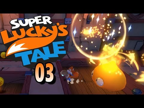 Super Lucky´s Tale 03 | Lord Funkes Reich | Lets Play | German