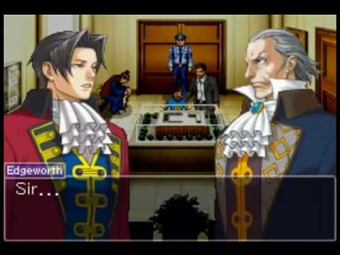 Ace Attorney Investigations: Miles Edgeworth - Case 4: Part 1