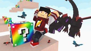 Minecraft: O JOGO MAIS DIFICIL - THE DROPPER LUCKY BLOCK ‹ AM3NIC ›