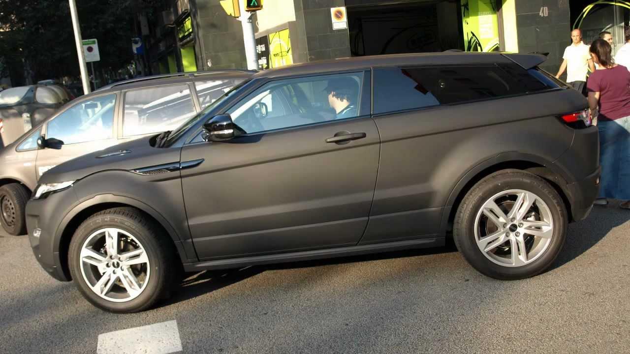 PR Concept Car Wrapping - Vinilos Especiales Negro Mate de ...