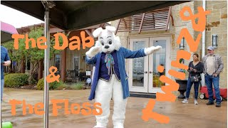 15. Twinz& Easter Bunny does the Floss