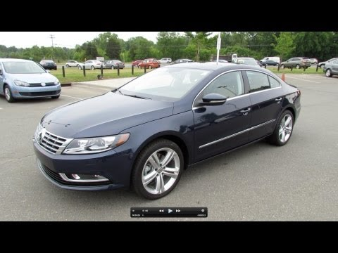 2013 Volkswagen CC Sport Plus Start Up, Exhaust, and In Depth Tour