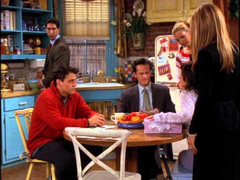 Friends The One With Rachel's Book - uncut scene