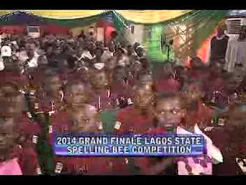 EDUCATION REPORT ON TV(2014 LAGOS STATE SPELLING BEE) EPISODE 42B