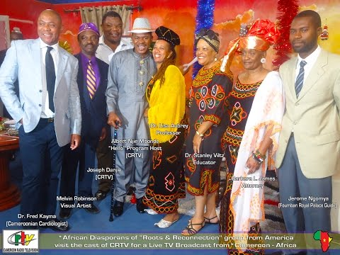 """CRTV @ """"Hello!"""" Live #1 TV Show @Cameroon~AFRICA (""""Roots & Reconnection"""")"""