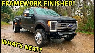Rebuilding A Wrecked 2019 Ford F-450 Platinum Part 8