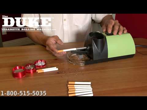 the Commercial Grade DUKE Cigarette Rolling Machine