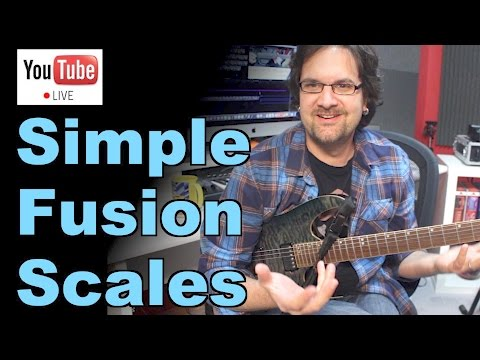 Fusion Jazz Rock Scales For Blues Rock Players - Live Masterclass
