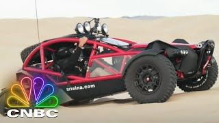 Jay Leno's Garage: Bucky Lasek Takes Jay On An Off-Road Adventure Through Pismo Beach | CNBC Prime