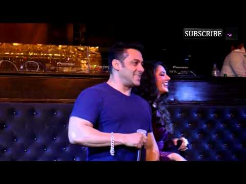 Launch of Devil Song of movie Kick with Salman Khan Nargis Fakri...