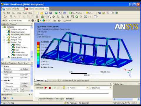 a report of the program ansys With ansys mechanical ap l 1 program overview  the introduction to ansys training material and related workbook exercises  report generator 14 short topics.