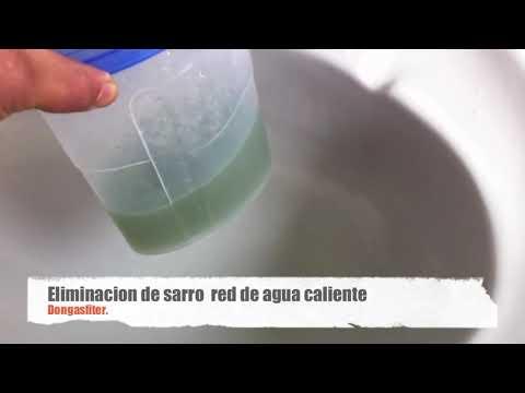 destape de cañerias producidas por la acumulacion de sarro