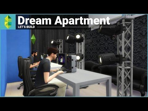 Building Our Apartment - The Sims 4 (w/ Zeuz)