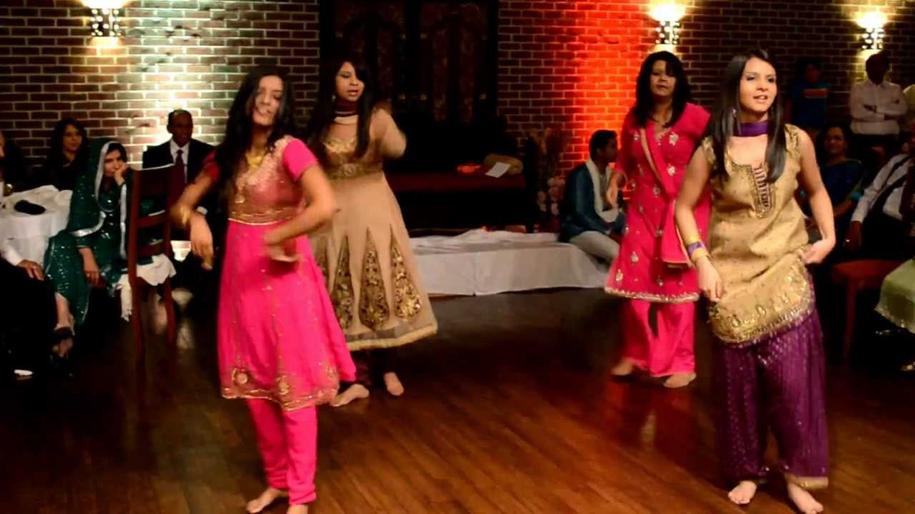 Sisters Of The Groom Dance From Indian Pakistani Wedding