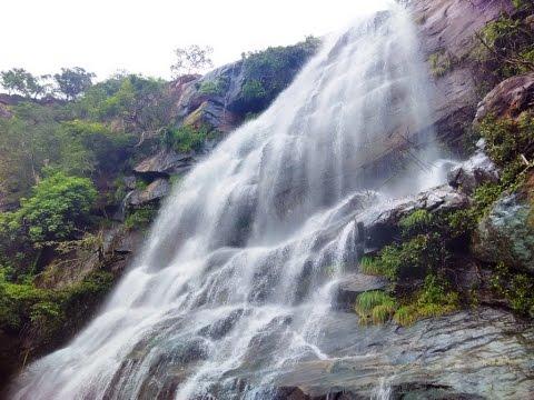 Kutladampatti falls rainy season | Madurai Courtallam