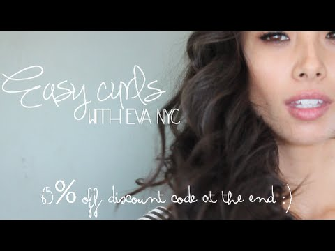 Easy Curls // Eva NYC 65% Off Discount Code // @ajadang