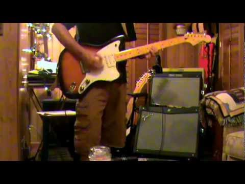 Beach Boys 'Catch A Wave' With VM Jazzmaster and Fender Blues Tweed Deluxe Reissue amp demo
