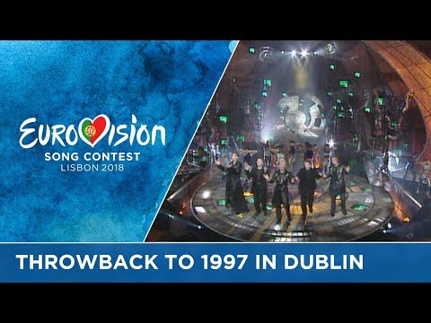 #ThrowbackThursday to 20 years ago: The 1997 Eurovision Song Contest in Dublin