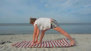 Легкая йога для начинающих