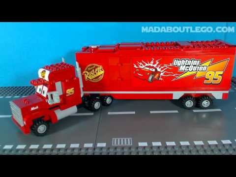 LEGO CARS MACK'S TEAM TRUCK