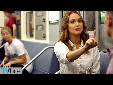 Camilla Luddington Talks 'Grey's' Season 15 on Train | TVLine